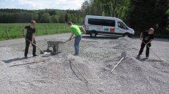 Parkplatzbau Eichener Mühle